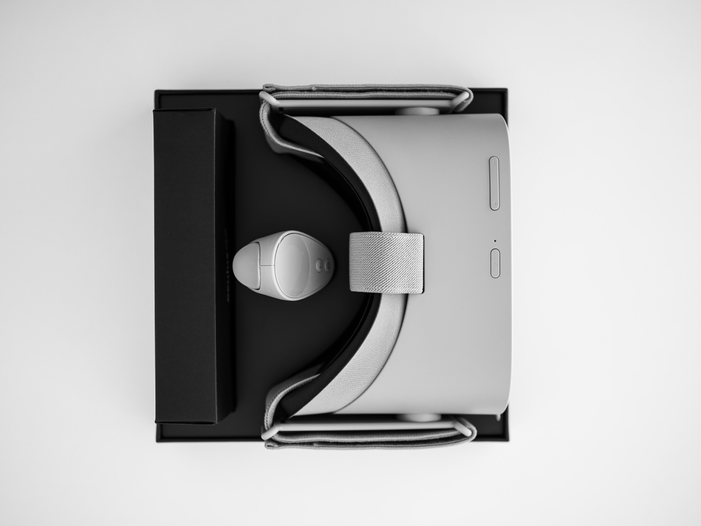 Boxed VR headset
